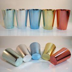 """""""Emka Paleton"""" aluminium cups"""