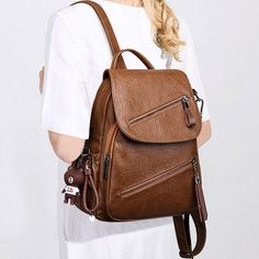 Styles Handbags : For your daily trip, school, or introducing a longer journey, find the pack match your needs. Lace Backpack, Retro Backpack, Striped Backpack, Backpack For Teens, Leather Backpack, Cute Backpacks, Girl Backpacks, School Backpacks, Fashion Bags