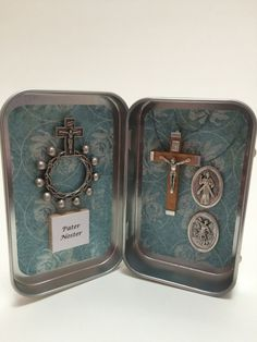 Catholic Pocket Shrine - St. Michael