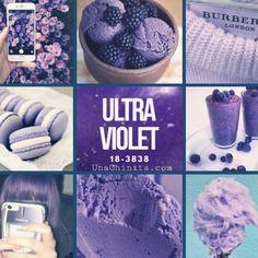 PANTONE 18-3838 Ultra Violet es el color del Año 2018  #PANTONE #Color #UltraViolet