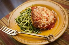 Want to try a new take on a favorite dish? Try this healthy Chicken Parmesan recipe.