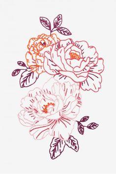 Pink Peonies pattern