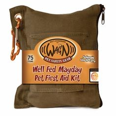 Well Fed Mayday Pet First Aid Kit for Dogs