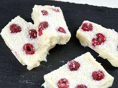 Bevroren yoghurt stukken - My Simply Special