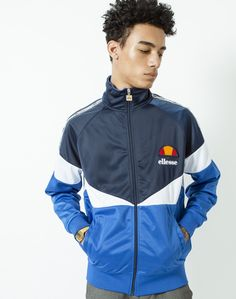 Ellesse Tricot Jacket with Side Taping | Shop men's clothing at The Idle Man