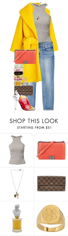 """""""Too much colour is not enough..."""" by quiche ❤ liked on Polyvore featuring NLY Trend, Chanel, Dolce&Gabbana, Disaya, Louis Vuitton, AMBRE and Mark & Graham"""