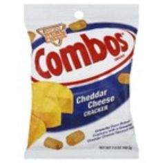I'm learning all about Combos Cheddar Cheese Cracker Snacks at @Influenster!