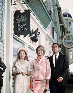 Mia Farrow, Dorothy Malone and Ed Nelson in Peyton Place. 1960s