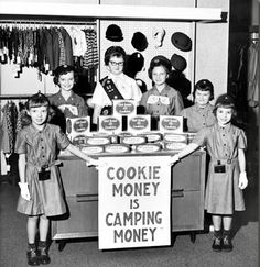 One of the many reasons for Girl Scout Cookies--help the girls go to camp, help the councils maintain camps!