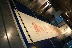 """Montahna #36"" Cristina Ataide. Exposición ""El rumor de la montaña"" Sala Cruzcampo #Málaga  #arte #artecontemporáneo #contemporaryart #exposiciones #Arterecord 2015 https://twitter.com/arterecord"