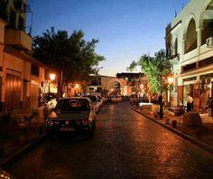 Damascus the Straight way bab sharki # syria