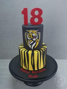 """Yellow and Black!"" www.facebook.com/cakesbyleannerhodes"