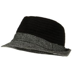 91019005ccf Braided Two Tone Fedora - Black - Hats and Caps Online Shop - Hip Head Gear