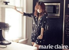 Lee Hyori rocks a laid-back, bohemian look for 'Marie Claire' | http://www.allkpop.com/article/2015/03/lee-hyori-rocks-a-laid-back-bohemian-look-for-marie-claire