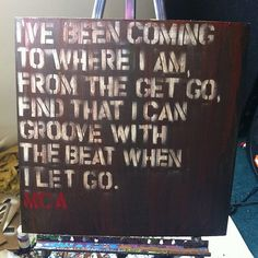 And now one for #mca #beastieboys