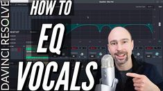 How to EQ Vocals  in Davinci Resolve Fairlight - Enhance Audio Quality