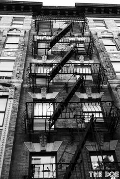 You havent lived in NY until you had you own    patio aka fire escape.