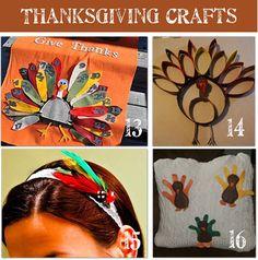 20 Thanksgiving Crafts To Make - Tip Junkie// Totally making #13
