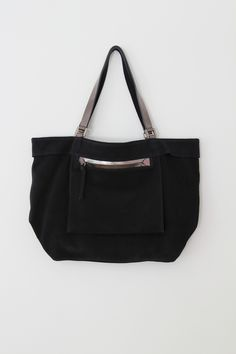 FIRSTOFTULLA Amy bag in suede and mirror leather