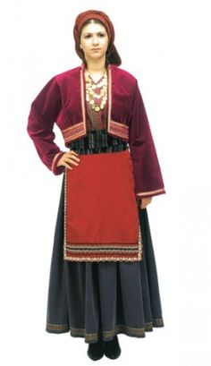 Macedonia National Dress