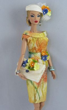 Spring Floral  for Silkstone Barbie and Victoire Roux