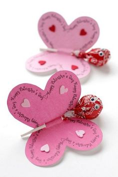Simply quick and homemade - great souvenir for the daycare, children& birthday party or pajama party *** Quick and Easy Giveaway Craft - kids party or just a little thank you valentines day day day cards day crafts day food day ideas geschenk spruch