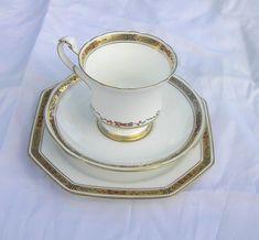 Art Deco 1929Rd Nr 744170 Fine bone china by TheMewsCottage, £28.00