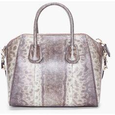 GIVENCHY Small Snakeskin Antigona Bag