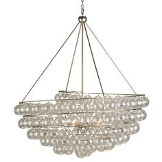 """Stratosphere Chandelier by Currey and Company 