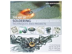 The art of soldering permanently joining metal components with a torch and solder is seen as a challenge by many, but this book makes it an easy to learn technique!