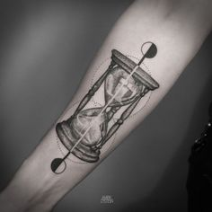 The hourglass is and always has been the classical representation of time, but its symbolism goes deeper than that. Its symbolism goes so deep and far back that it has been used as a tattoo…