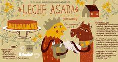 Cositas Ricas Ilustradas por Pati Aguilera: Leche Asada