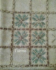 Alıntı Kasuti Embroidery, Cross Stitch Embroidery, Embroidery Designs, Bargello, Blackwork, Needlepoint, Bohemian Rug, Diy And Crafts, Quilts