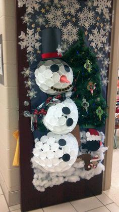 Quot Baby It S Cold Outside Quot 3d Snowman Classroom Door