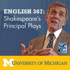 English 367: Shakespeares Principal Plays - Ralph Williams |...: English 367: Shakespeares Principal Plays - Ralph Williams |… #Literature