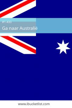 Ga naar Australië - iBucketList