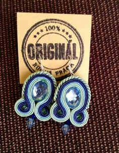 Handmade ZuzDesign soutache earings More Fun, Jewelery, Handmade, Free, Jewlery, Jewels, Hand Made, Jewerly, Schmuck