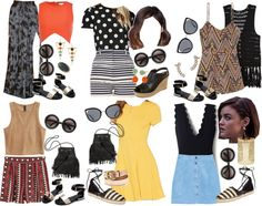 Aria Montgomery inspired summer vacation outfits por liarsstyle usando stone rings