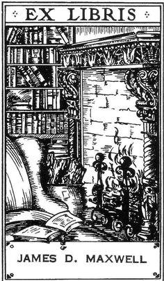 "Ex Libris nel volume ""I believe"" di C. Fadiman del 1939"