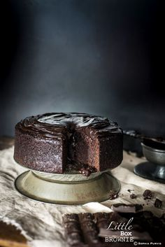 The Ultimate Tia Maria Chocolate Fudge Cake | Little Box Brownie