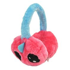 Cupcake Cult Monster Earmuffs (Pink)
