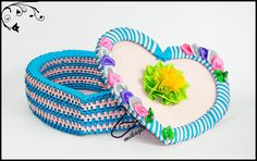 Heart box tutorial -> mikaglo.blogspot.com