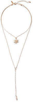 New York & Co. Star Pendant Lariat Necklace