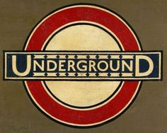Underground Roundel from Westminster Station, Edward Johnston William Morris, Sans Serif, Westminster Station, Typography Letters, Lettering, Typeface Font, Fonts, Modernisme, Creative Review