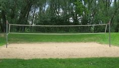 sand volleyball courts at Gold Run Condos near #CUBoulder