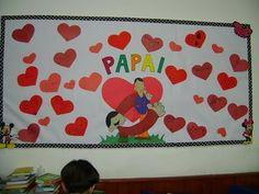 EDUCAÇÃO INFANTIL: Mural para Dia dos Pais