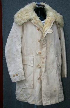 Wool Swedish army coat