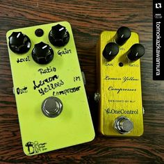 Family picture:  BJFe Lemon Yellow Compressor &One Control Lemon Yellow Compressor (by @tomokazkawamura)
