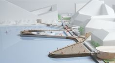 New BIG-Designed Neighborhood to Activate Aarhus' Waterfront,Courtesy of BIG