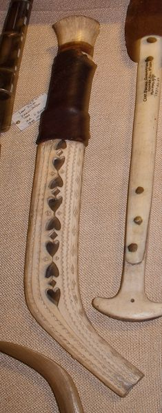 Saami knife and sheath